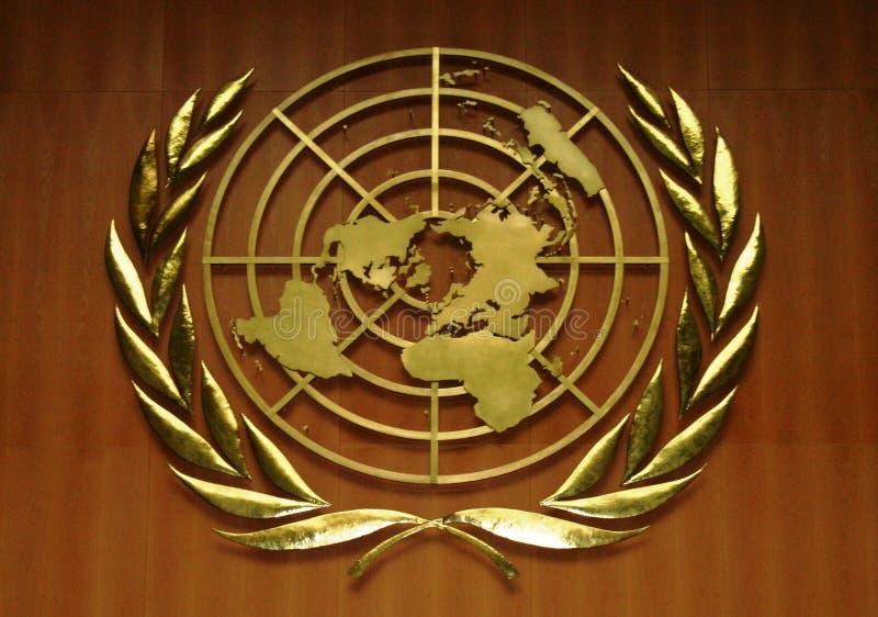 logo nations united 库存图片