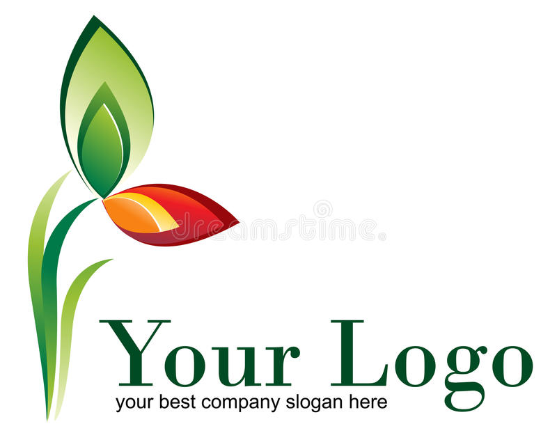 logo natura ilustracji