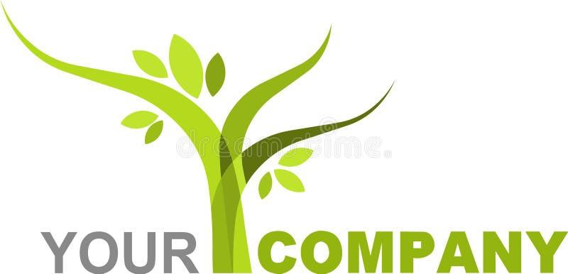 Logo nature stock illustration