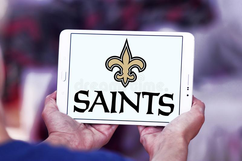 New Orleans Saints American Football Team Logo Editorial Photography
