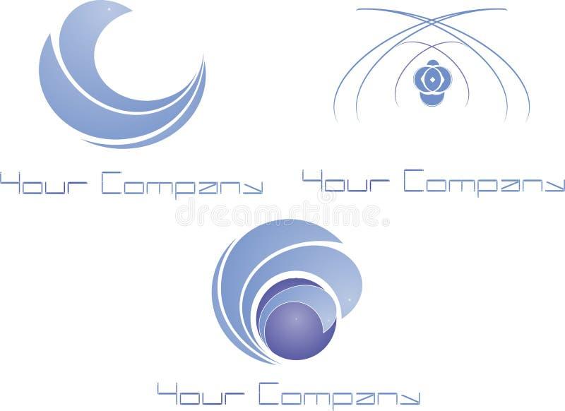 logo nowożytny fotografia stock