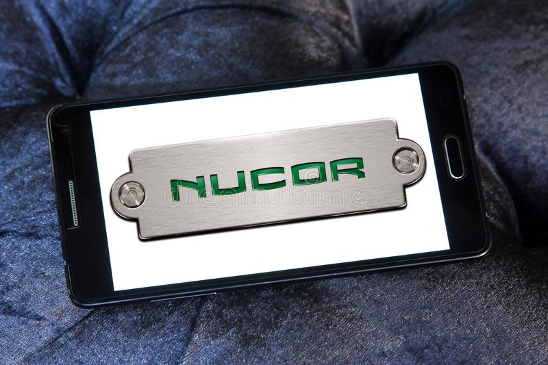 Nucor Steel Corporation Logo Editorial Photography Illustration Of