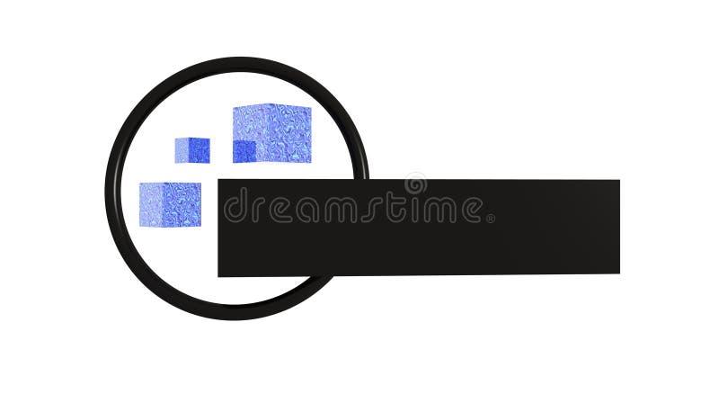 Download Logo object stock illustration. Image of material, render - 5700347
