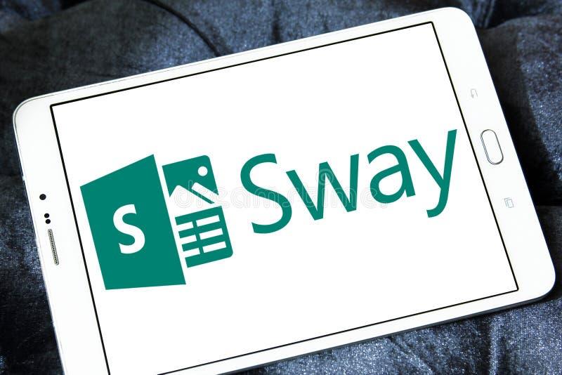 Microsoft Office Sway logo royalty free stock photos