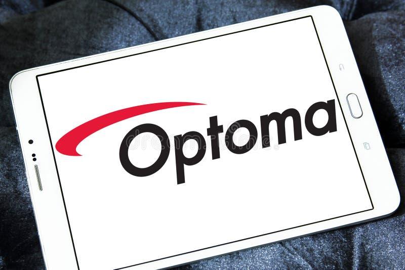 Logo Optoma Corporation stockbild