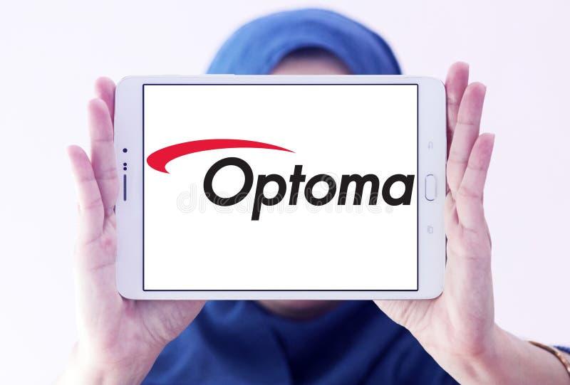 Logo Optoma Corporation lizenzfreie stockfotografie