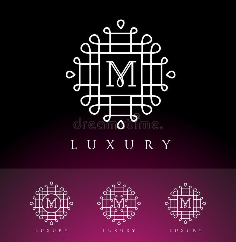 Logo oriental de luxe illustration de vecteur