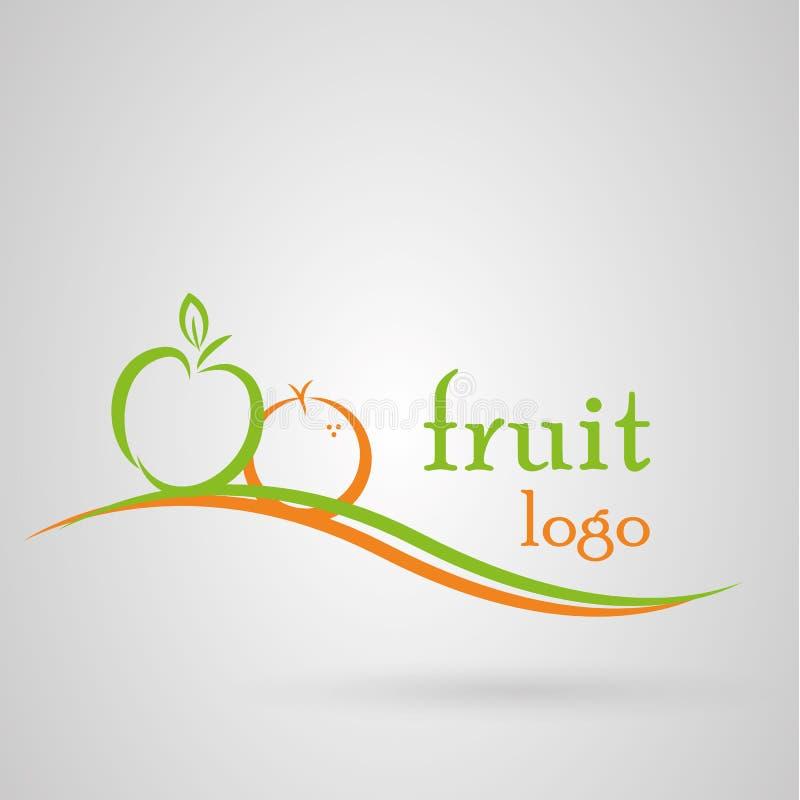 Logo owoc royalty ilustracja