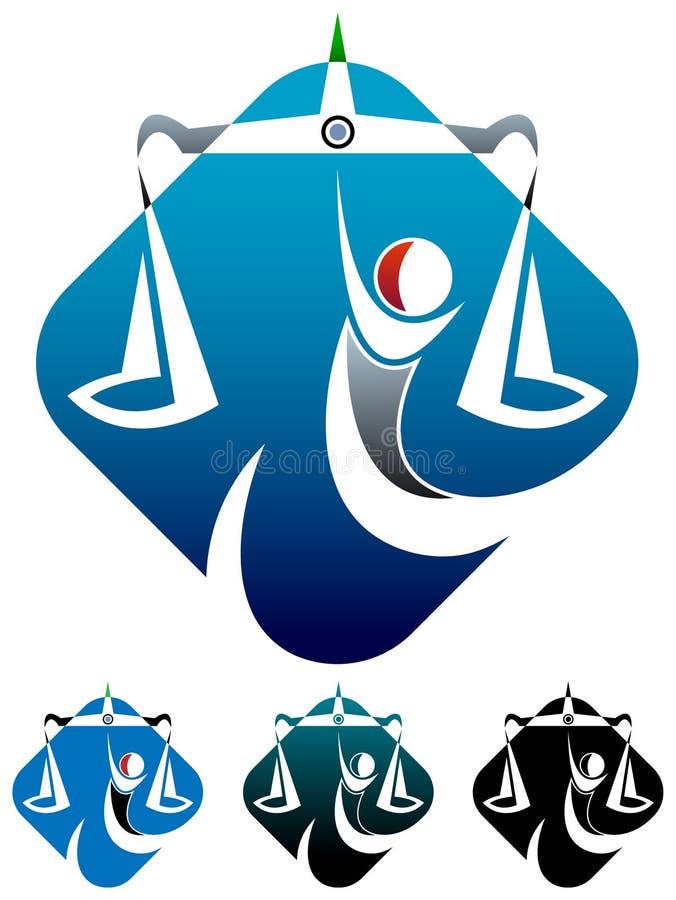 Logo permissible illustration libre de droits