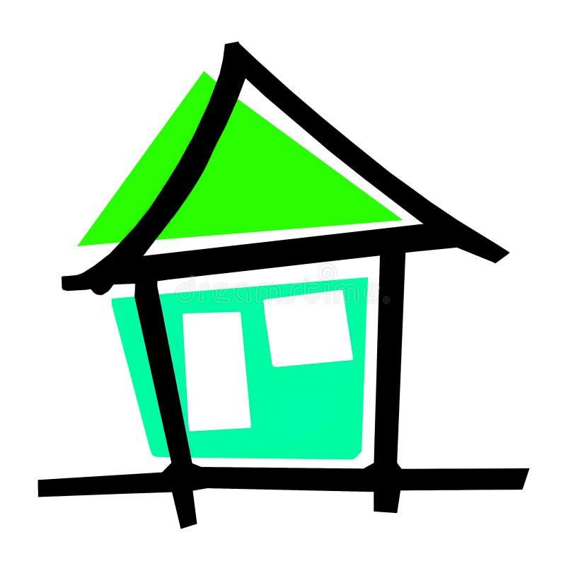 Logo Perumahan Indah Dan Permai photographie stock