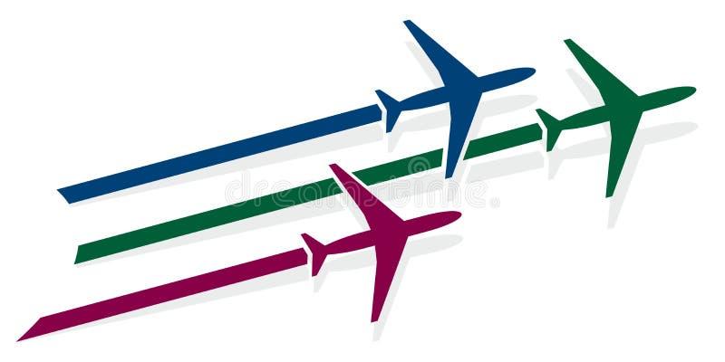 Logo of planes. vector illustration