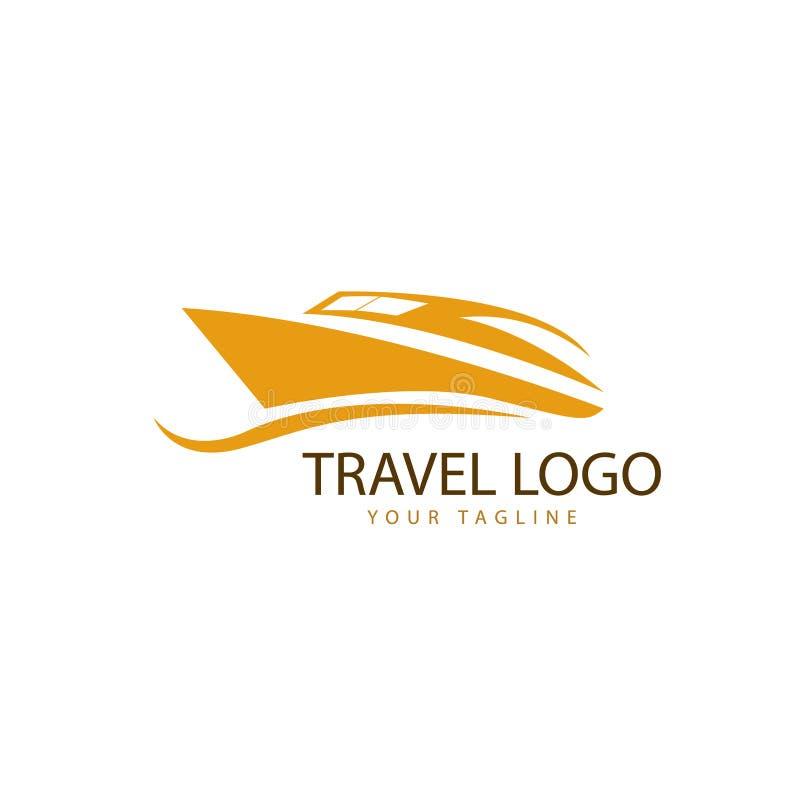 Logo podróżnego z szybkim rozruchem royalty ilustracja