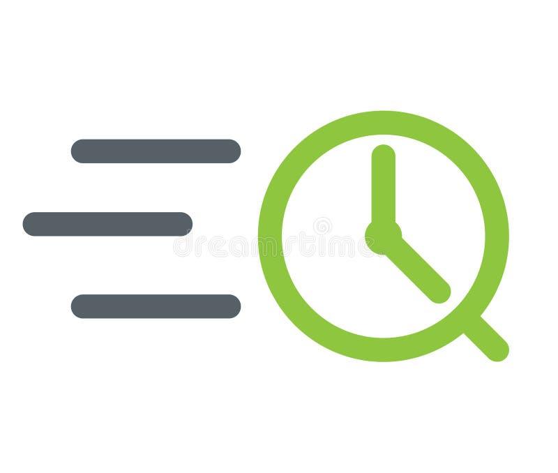 Logo rapide illustration stock