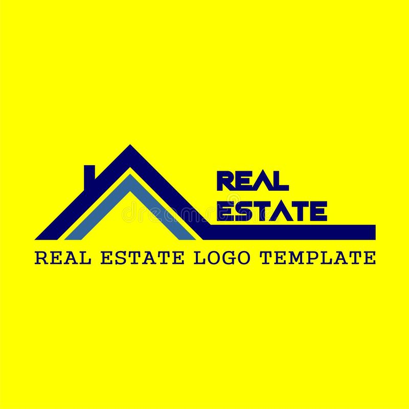 logo of real estate interests royalty free stock image
