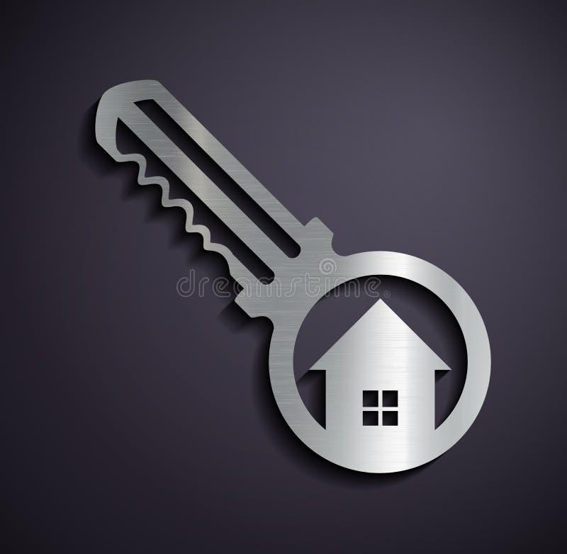 Logo real estate. stock illustration