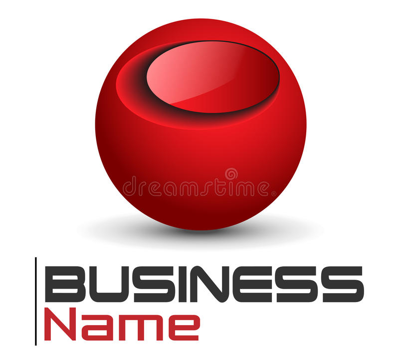 Free Logo Red Sphere Royalty Free Stock Image - 14298026