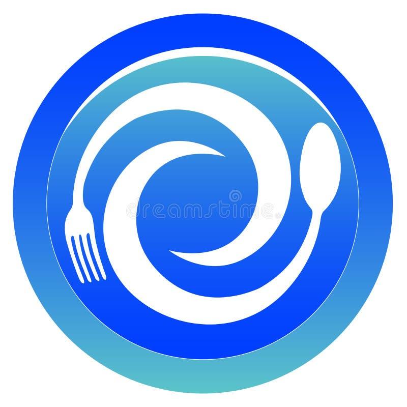 logo restauracja ilustracji