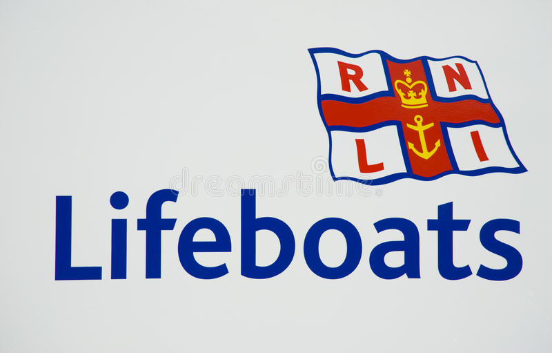 Download Logo of the RNLI editorial stock image. Image of charity - 18392859