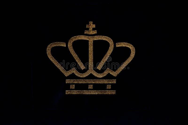 Logo From The Royal Family dos Países Baixos 2019 imagem de stock royalty free