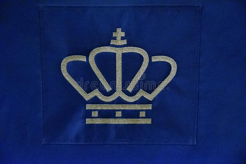 Logo From The Royal Family dos Pa?ses Baixos 2019 imagens de stock royalty free