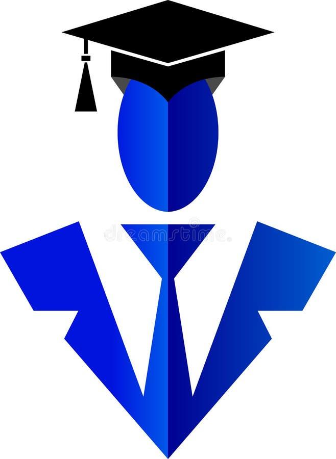Logo scolaire de gens illustration libre de droits