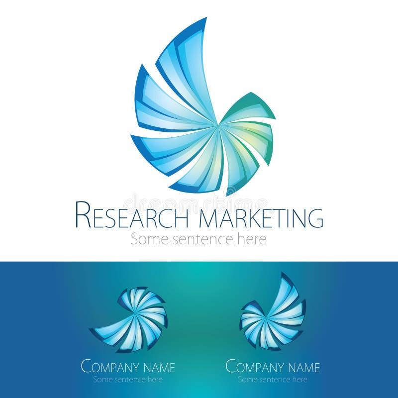Logo - Seashell. Corporate logotype in modern look and feel stock illustration
