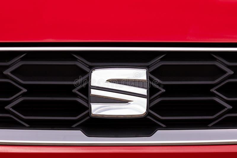 Logo of Seat vehicle stock images