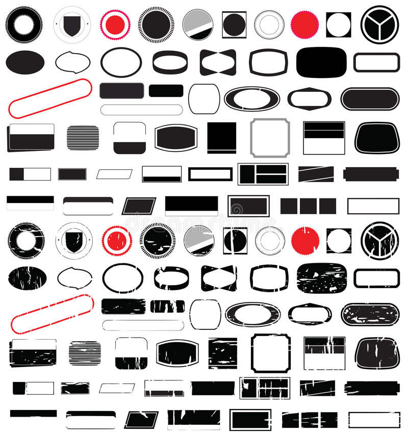 Free Logo Shape Designs No.1 Stock Image - 3344871