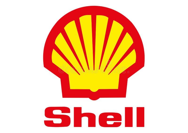 Logo Shell illustration libre de droits