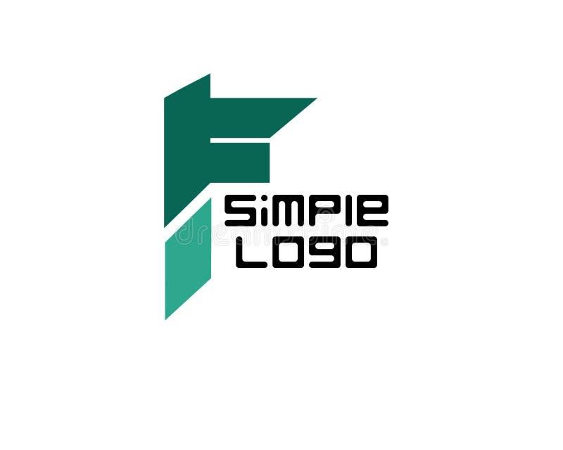 Logo simple iconique pour la société ou les affaires illustration libre de droits