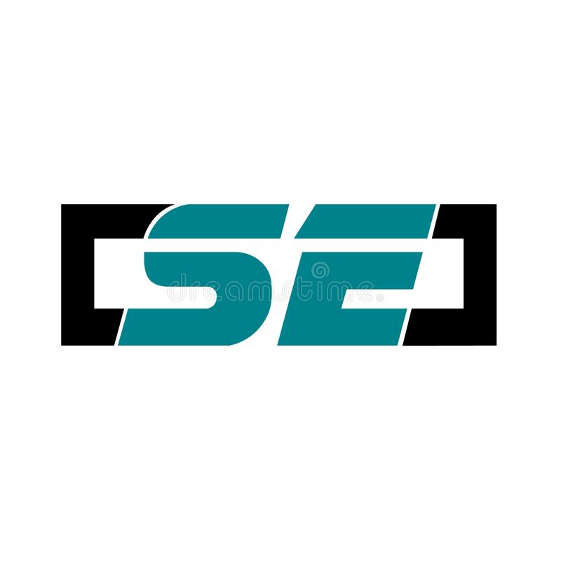 Logo that sporty style and elegant royalty free illustration