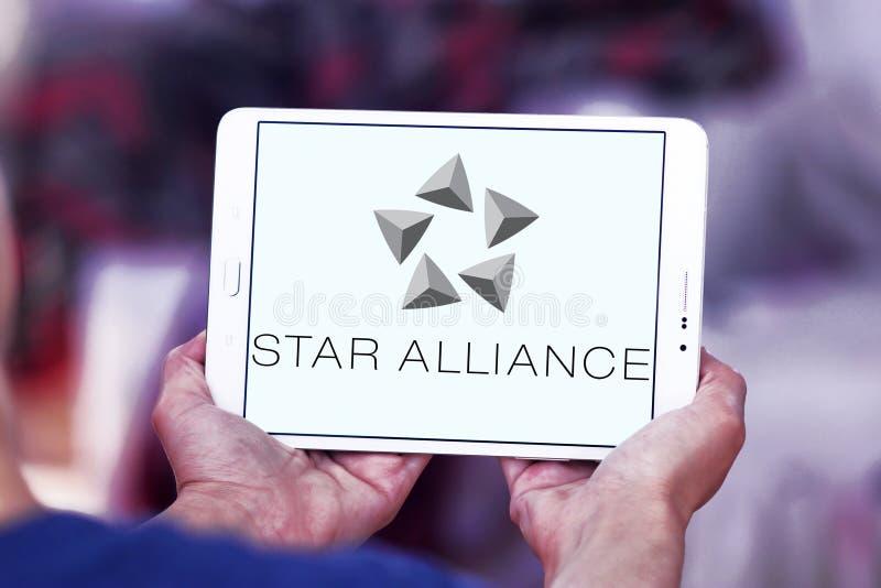Star Alliance logo royalty free stock photo