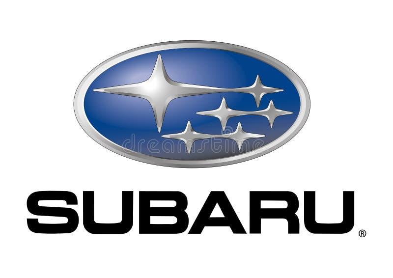 Logo Subaru stock illustration