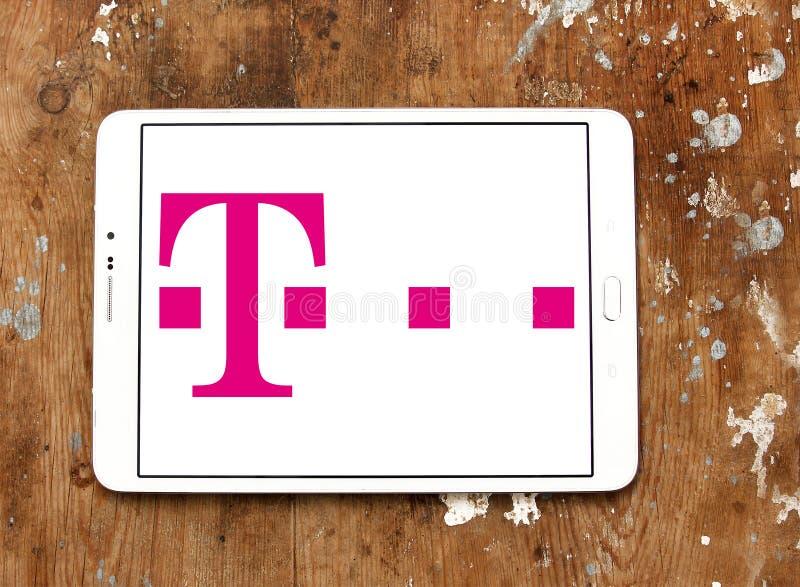 logo T-mobile de télécom photos libres de droits