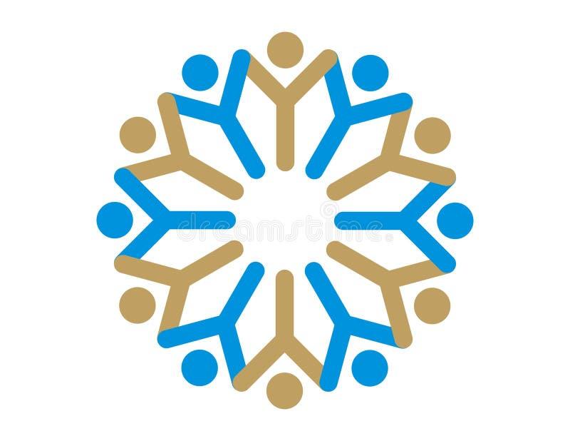 Logo - team Spirit. Logo for Educational Institute / Academy / Team / Club / Aviation / Management / company / Marketing / Sales / right / welfare / Community / royalty free illustration