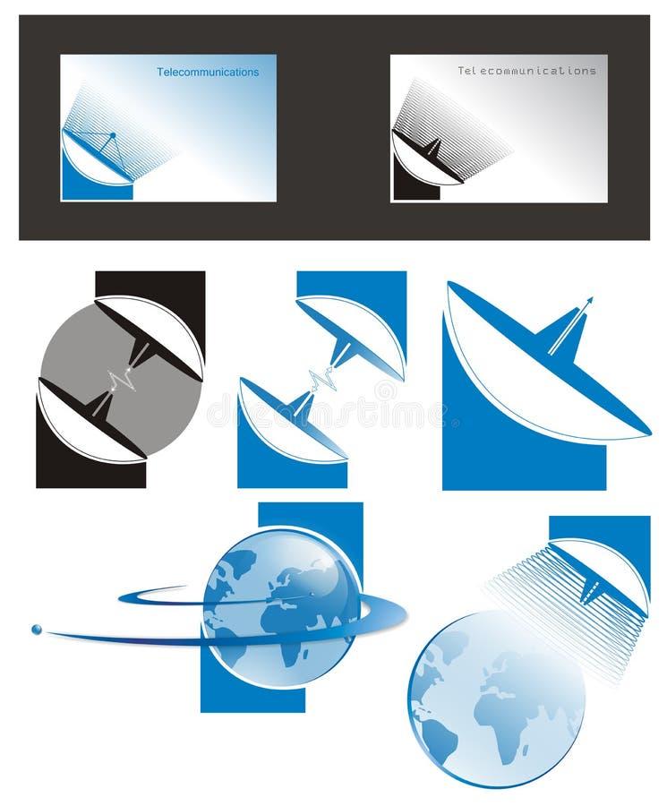 logo telekomunikacje ilustracji