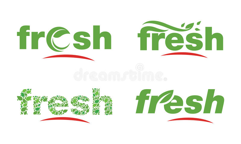 A Logo Template royalty free illustration