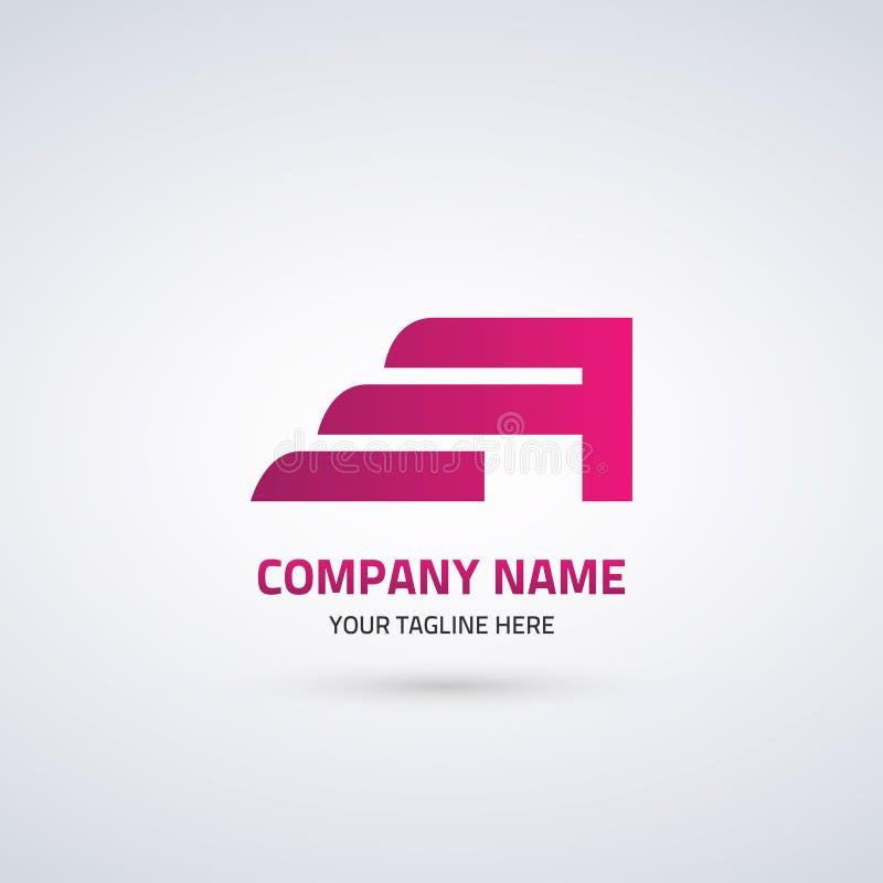 Logo Template For Corporate Identity abstrato 1 ilustração royalty free
