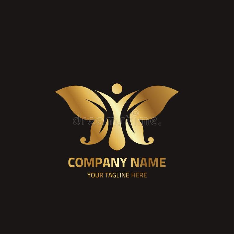 Logo Template For Corporate Identity abstrato 7 ilustração stock