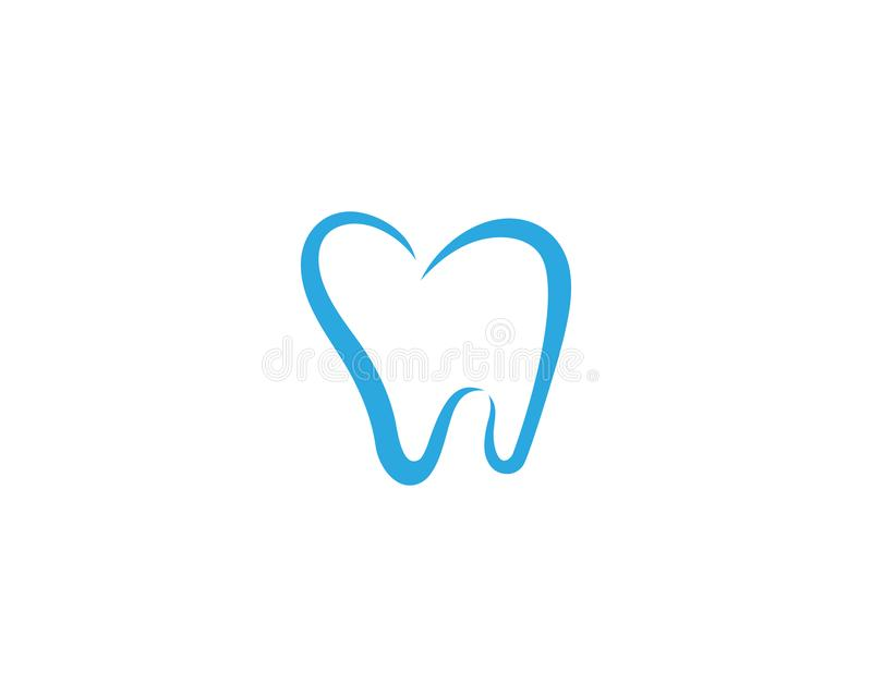 Logo Template dentaire illustration stock