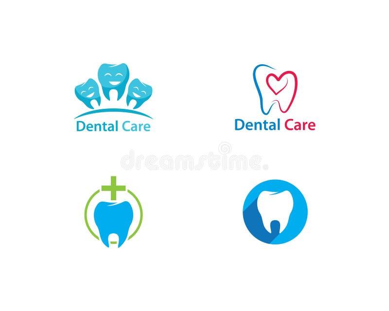Logo Template dentaire illustration libre de droits