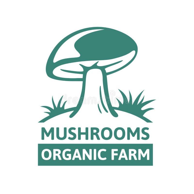 Logo template design porcini organic mushroom farm stock vector download logo template design porcini organic mushroom farm stock vector illustration of farm ecology toneelgroepblik Image collections