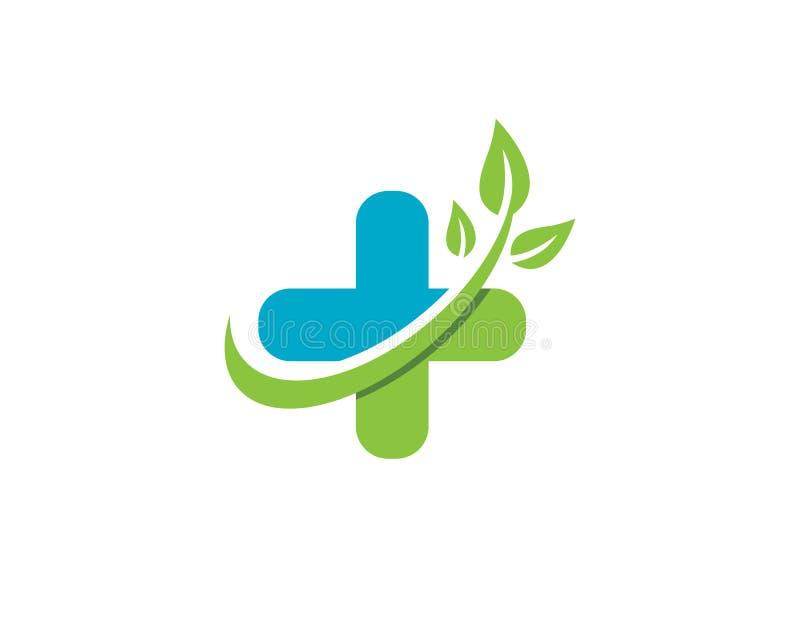 Logo Template médical illustration libre de droits