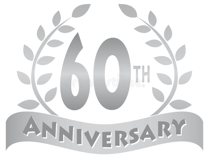 Download Sixtieth Anniversary Banner/eps Stock Vector - Image: 30029409