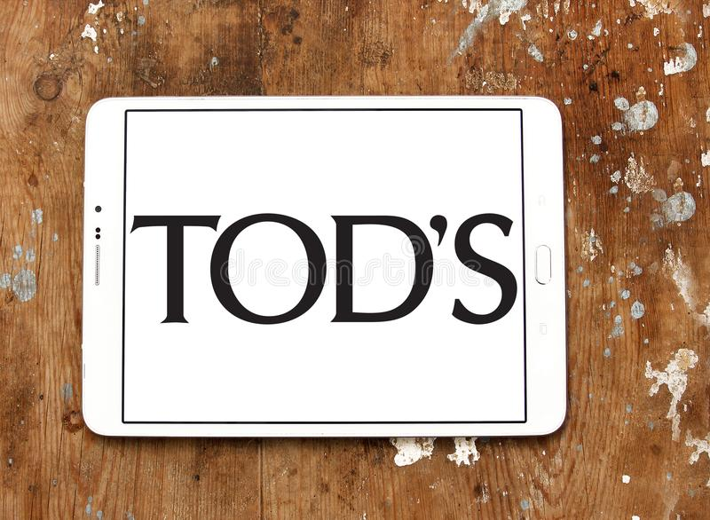 Tod`s fashion brand logo stock images