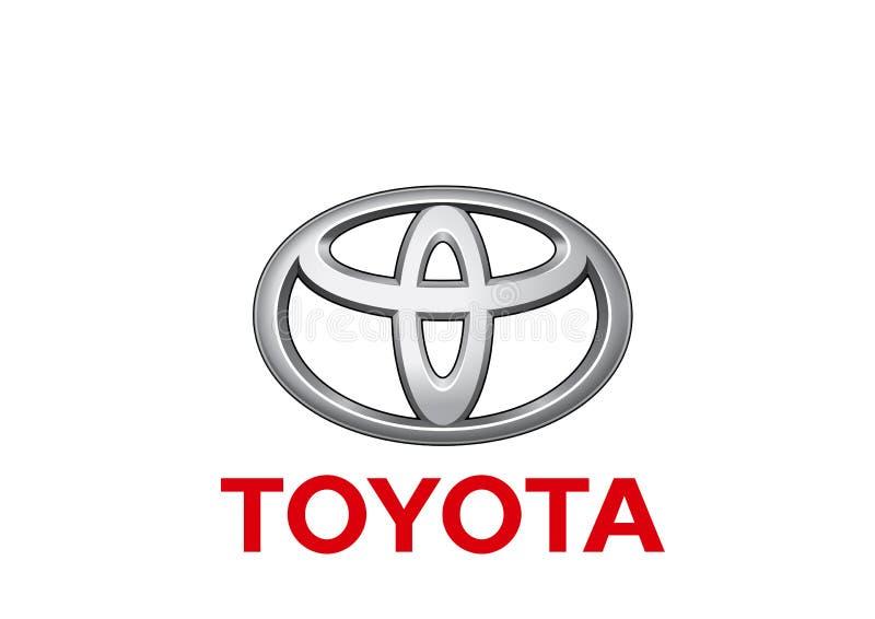 Logo Toyota. Car color vector format aviable ai