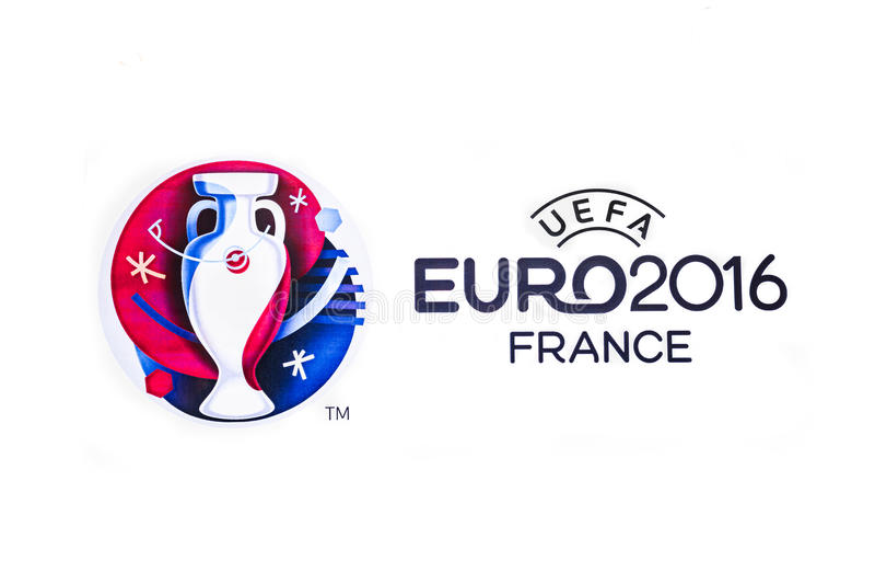 Logo 2016 UEFA Europejski mistrzostwo w Francja