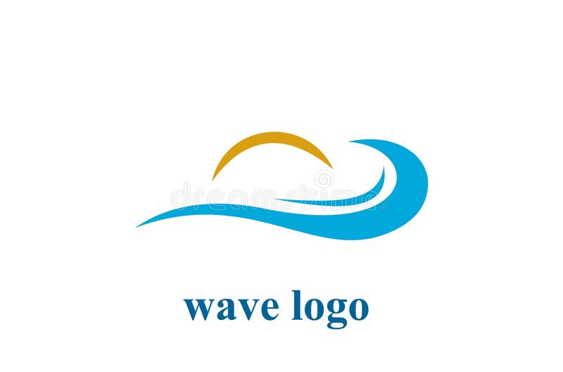 Logo vector design royalty free illustration
