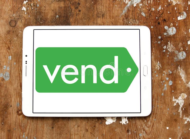 Vend software company logo royalty free stock image