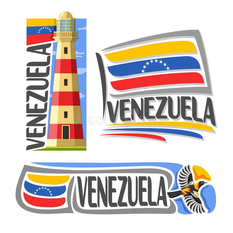 Logo Venezuela de vecteur illustration de vecteur